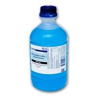 Baxter 1L 0.05% Chlorhexidine (Blue)