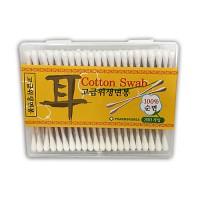 3″ Cotton tip -3″ 棉花棒 (木, 雙頭/罐裝)