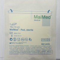 """MaiMed"" Combine Dressing 吸血棉墊 10 x 10cm (50pcs/盒) (25400 )"