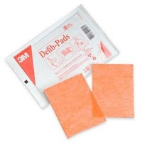 """3M"" Defibrillator Pads 11.4×11.4cm (10對/盒) (2345N)"