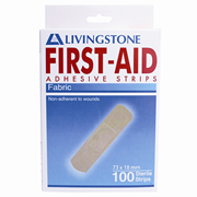 """Livingstone"" 麻質膠布 73x18mm (100塊/盒) (ASF7318100)"