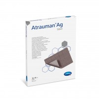 """""""HARTMANN"""" Atrauman Ag (10x20cm), ST, P10傷口敷料"""